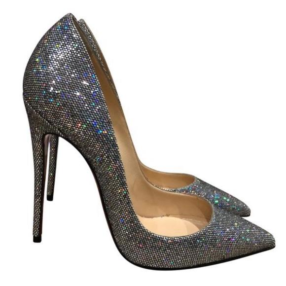 65ca6d19787 Christian Louboutin-So Kate 120 Glitter Disco Ball